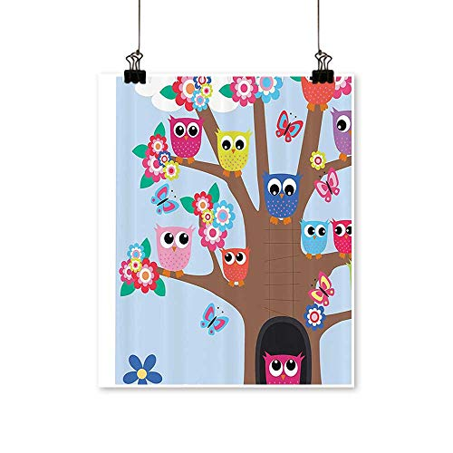 Art Picture Colorful Canvas Print BFF Friends Forever Home Accent for Friendship for Teens and Girls Paintings for Living Room,12