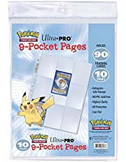 Ultra Pro- Pokémon Hojas para Álbum (84847-RD) , color, modelo surtido