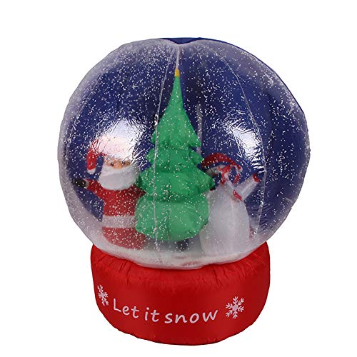 Santa Claus Inflable Papá Noel Hinchable Decoración Navidad ...