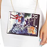 Knitting Factory Book Clutch Selection Perfect for Book Lovers (Romeo & Juliet)