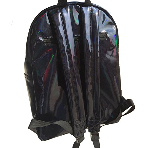 Drasawee - Bolso mochila  para mujer plateado plateado talla única negro