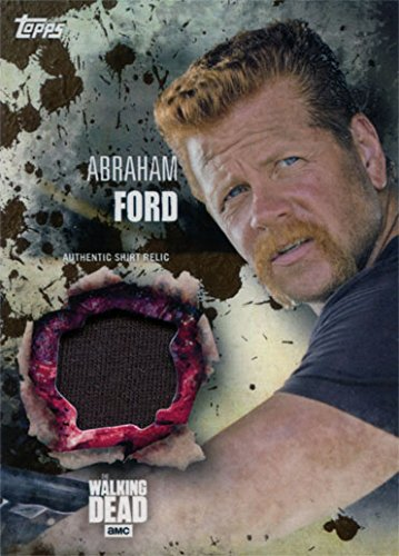 Ford Costume Abraham (Walking Dead Season 5 Costume Chase Abraham Ford Shirt Relic Mud Parallel)