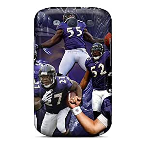 Great Cell-phone Hard Covers For Samsung Galaxy S3 (ejw18953dLuj) Support Personal Customs Vivid Baltimore Ravens Pictures hjbrhga1544