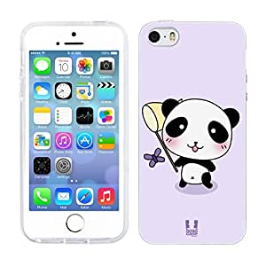 DIY Case Designs Catch a Butterfly Kawaii Panda Soft Gel Back Case Cover for Apple iPhone 5 5s by ruishername
