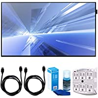 Samsung (DB40E) 40 Slim Direct-Lit LED Display for Business w/ Accessories Bundle Includes, 2x 6ft. HDMI Cable, SurgePro 6-Outlet Surge Adapter with Night Light & Screen Cleaner For LED TVs