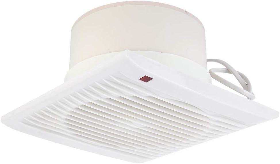 Ventilador de extracción, Ventilador de ventilación, 220V 20W Montaje en Pared Ventilación de ventilación de Aire Ventilador de extracción para el hogar Baño Cocina Ventana