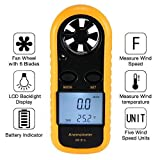 Amgaze Anemometer Handheld, Digital LCD Backlight