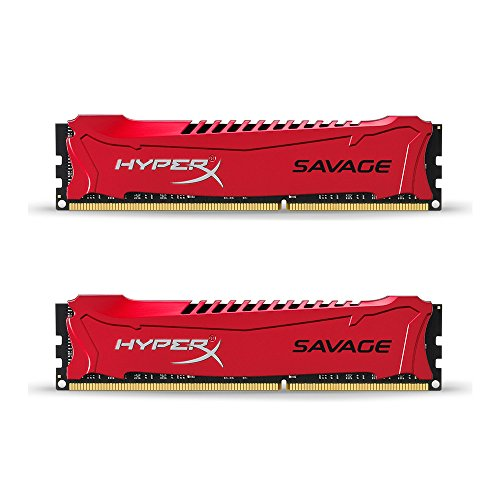 Kingston HyperX Savage 16GB Kit (2x8GB) 1866MHz DDR3 Non-ECC CL9 DIMM XMP (HX318C9SRK2/16)