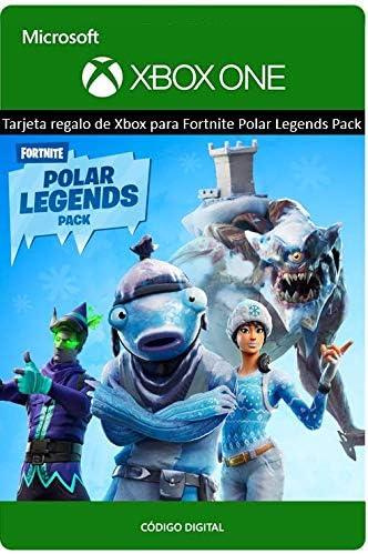 Tarjeta regalo de Xbox para Fortnite Pack Leyendes Polares | Xbox ...