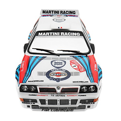 KINGDUO Killerbody Shell 48248 Lancia Delta Rally-Automovilismo Impreso Eléctrico 1/10 Touring RC Autopartes: Amazon.es: Hogar