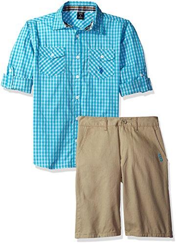 Gingham Check Woven Shirt - 9
