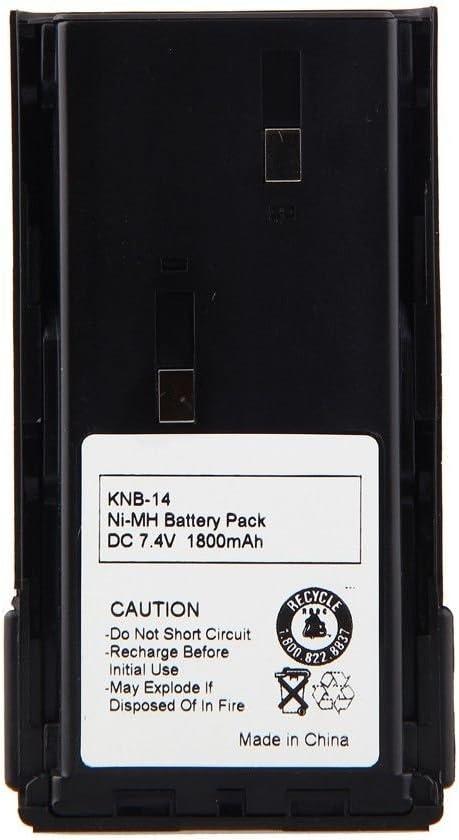 8 x 7.4V 1200mAh Battery for KENWOOD KNB-20 KNB-20N TK-2100 TK-260 TK-270 TK-360