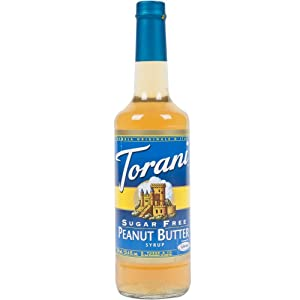 Torani Sugar Free Peanut Butter Syrup, 750mL