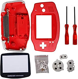 Timorn Full Parts Replacement Housing Shell Pack for Gameboy Advance GBA Controller (Blue)