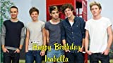 "One Direction Personalized Edible Cake Image 8"" By 10"" Rectangular"