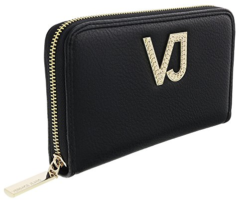Versace EE3VRBPC1 Black Continental Wallet