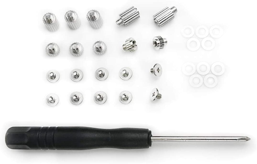 Micro Connectors M.2 SSD Mounting Screws Kit for Gigabyte & MSI Motherboards (L02-M2G-KIT) - Silver