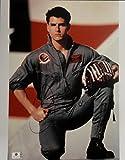 Tom Cruise Hand Signed Autograph 11x14 Jumbo Photo Top Gun Star GA 728491