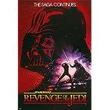 "Star Wars: Episode VI - Revenge Of The Jedi - Movie Poster (Original Teaser / Advance Design Artwork) (Size: 24"" x 36"")"