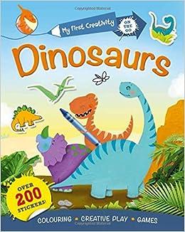 Book My First Creativity Book: Dinosaurs