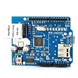 Blue Ethernet Network Expansion Board Module Micro SD Slot for Arduino