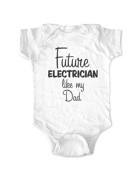 Amazon.com: Futuro Electricista como my Dad – Cute Fun ...
