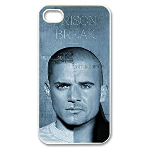 TOSOUL Prison Break Phone Case For Iphone 4/4s [Pattern-3]