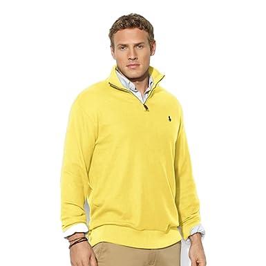 At Banana Men's Ralph Cream Amazon Half Sweater Polo Zip Lauren Jlc1FK