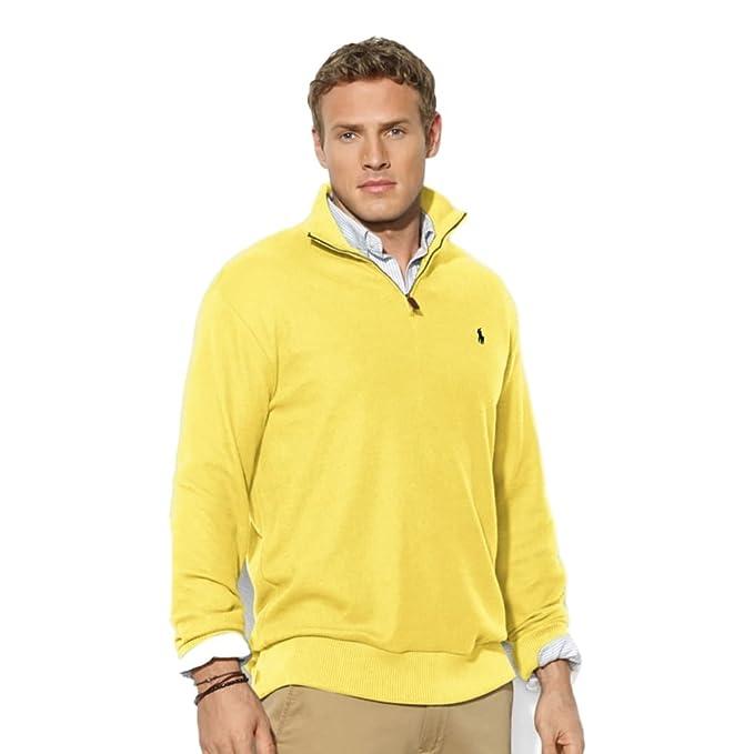 Amazon.com: Polo Ralph Lauren Hombre Half-Zip Jersey, S ...