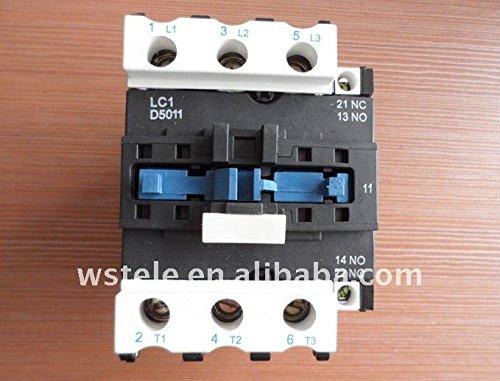 Telemecanique Lc1 D5011 Contactor 6 Pole 600 V Max Lc1 D5011 ()