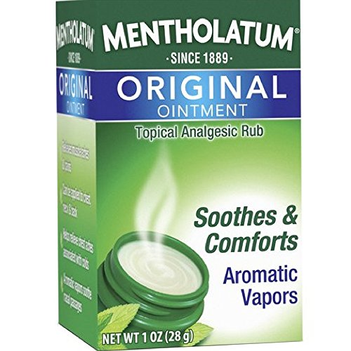 Mentholatum Original Ointment Soothing Relief, Aromatic Vapors - 1 oz ( Pack of - Ointment Aromatic