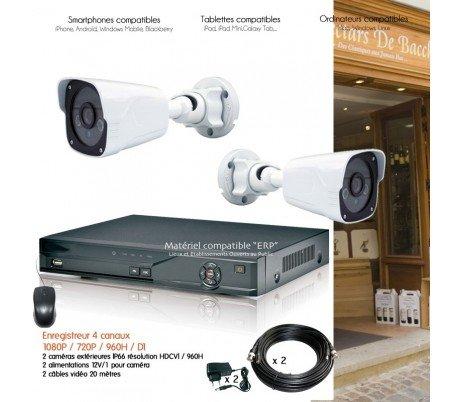 HD Dahua - Sistema de Video Vigilancia con 2 Cámaras exteriores IR 30 m - kit-d25 - 2 x 2940 - Disco duro de 1 TB: Amazon.es: Bricolaje y herramientas
