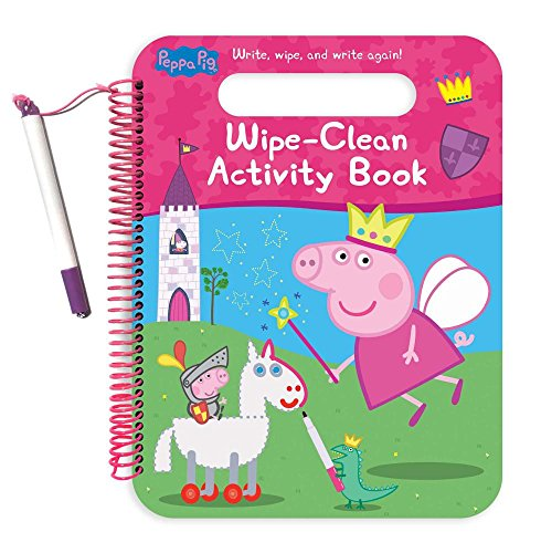 Peppa Pig Wipe-clean Activity Book: Write, Wipe, and Write Again!