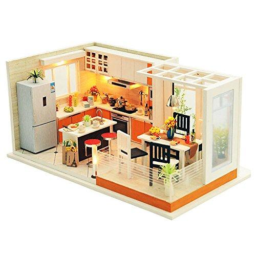 (t-FREAK) 인형 집 수제 키트 세트 미니어쳐 Livable