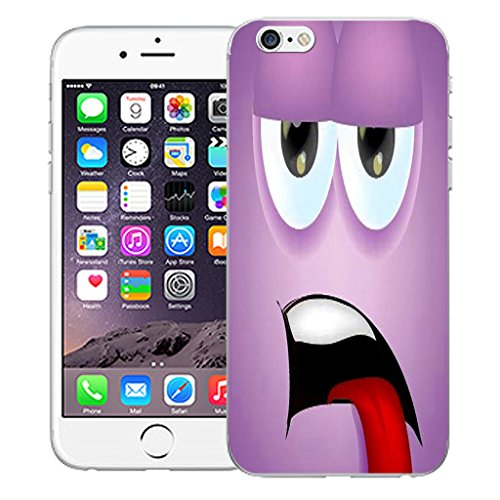 """Mobile Case Mate iPhone 6 4.7"""" Silicone Coque couverture case cover Pare-chocs + STYLET - Brash Character Design pattern (SILICON)"""
