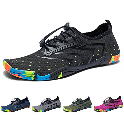 Madaleno Water Shoes Quick-Dry Barefoot Sport Aqua Shoes for Beach Swimming...
