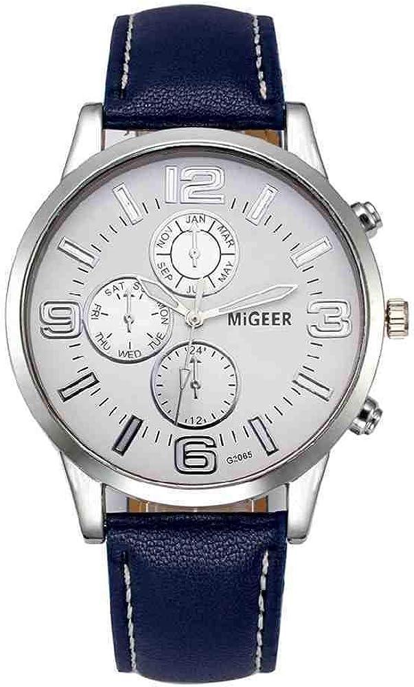 OLUYNG Reloj de Pulsera Reloj clásico Verde Oscuro Geneva Roman Numerals Faux Leather Analog Quartz Women Wrist Watches Feminino