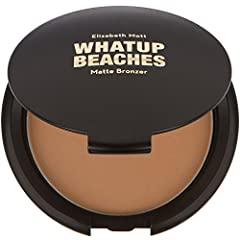 Daydreaming of escaping to that beachy destination where the sun is warm and the sand hugs your toes? Well now you can, with Whatup Beaches bronzer! Our smooth blendable formula is perfect for sculpting and defining those gorgeous cheekbones....
