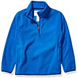Amazon Essentials Boys Polar Fleece Quarter-Zip Pullover Jackets