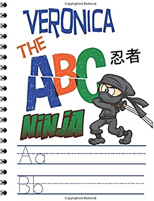 Amazon.com: Veronica The ABC Ninja: Personalized Handwriting ...