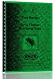 Euclid 91 FD Rear Dump Truck Parts Manual (R-15, R-18)
