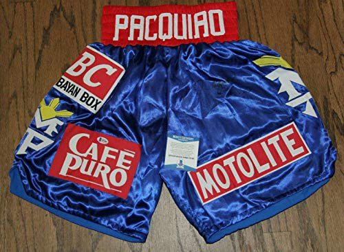 Manny Pacman Pacquiao Signed Autographed Auto