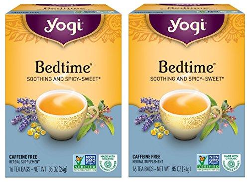 - Yogi Bedtime Tea -- 16 Tea Bags (Pack of 2)