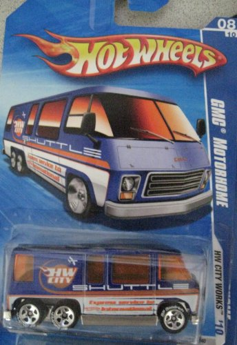 - Hot Wheels 2010 GMC Motorhome HW City Works BF Goodrich WHEELS #116