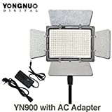 YONGNUO YN900 YN-900 High CRI 95 3200K-5500K LED Video Light Panel with AC Power Adapter