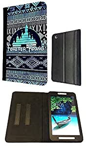 Samsung Galaxy Tab 3 8'' 8-inch Forever young Designer Full Case / Flip Cover Defender Shockproof Holder Pouch Purse Case Cover Wallet by ruishername