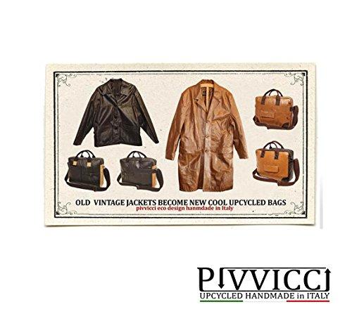 cuir viaje Time de Pivvicci viaje 70 daim Bolsa noir Free de qwxAPzw