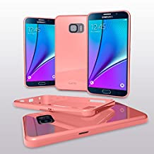 Samsung Note 5 Case - Cellto [Soft Flexible] G IV Case Slim **NEW** [Precision Fit] Premium Flex Soft TPU Case - Retail Eco-Packaging - Thin Case for Samsung Note 5 (2015) - Baby Pink
