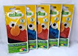 Sesame Street Fizzy Tub Colors - 9 Water Color Tablets Per Pouch - Pack of 5 (45 Baths!)