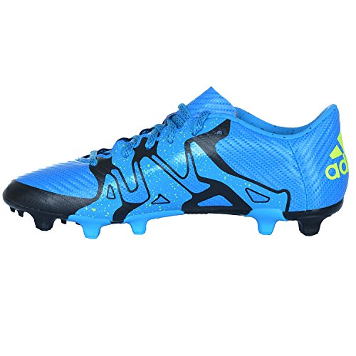 Adidas X 15,4 Fxg Menns Fleksibel Jordings Fotballsko Blå